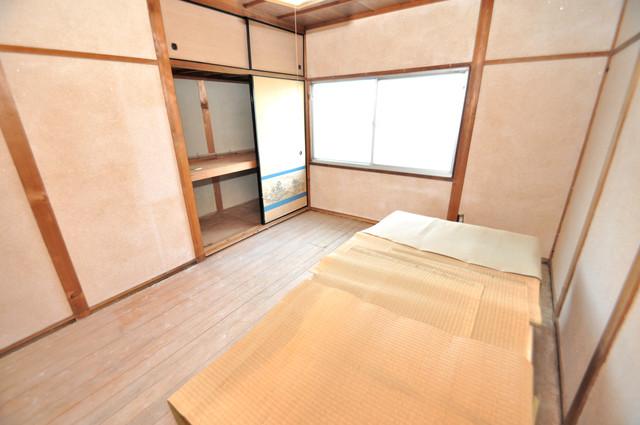 若江本町4-8-40貸家 ゆったりくつろげる空間からあなたの新しい生活が始まります。