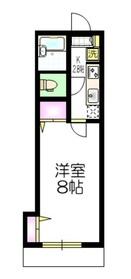 SUNNY SIDE1階Fの間取り画像