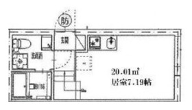 護国寺駅 徒歩5分1階Fの間取り画像