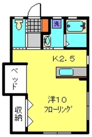 プレジオⅡ1階Fの間取り画像