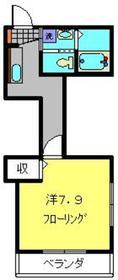 蒔田駅 徒歩20分2階Fの間取り画像