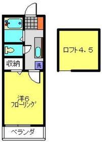 横浜駅 バス25分「羽沢下町」徒歩1分1階Fの間取り画像