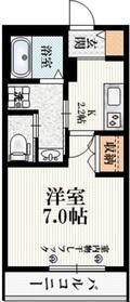 (仮称)阿佐谷南3丁目マンションⅡ3階Fの間取り画像