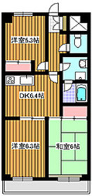 地下鉄赤塚駅 徒歩22分2階Fの間取り画像
