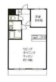 弘明寺パークコート7階Fの間取り画像