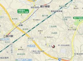 二俣川コアA案内図