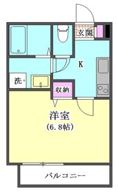 メゾンK-1 202号室