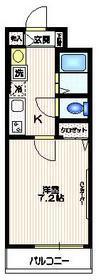 メゾン四季3階Fの間取り画像