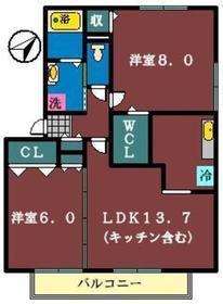 M31階Fの間取り画像