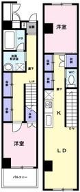 築地口駅 バス11分「十一屋停」徒歩2分3階Fの間取り画像