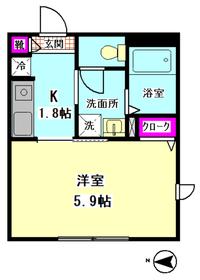 メゾン柴田 205号室