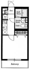リブリ・パルテール1階Fの間取り画像