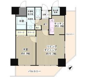 トレステージ目黒2階Fの間取り画像