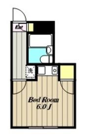 プチメゾンミカド4階Fの間取り画像