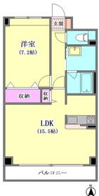 メイプルリーフ中溝 602号室