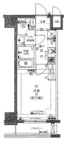 ライジングプレイス桜木町弐番館9階Fの間取り画像