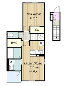 WIN122階Fの間取り画像