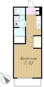 サニープレイス(上鶴間本町4)1階Fの間取り画像