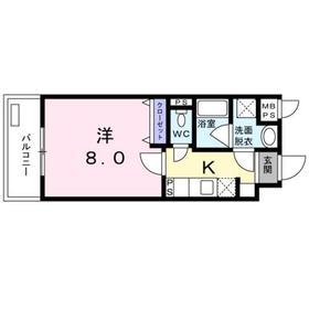 OZ HAUS3階Fの間取り画像