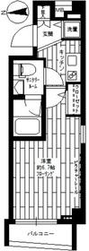 ステージファースト西新宿1階Fの間取り画像