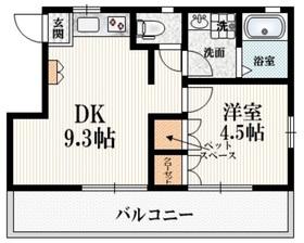 MARVIN2階Fの間取り画像