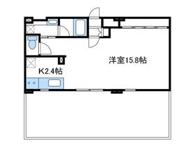 オズコート6階Fの間取り画像