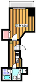 地下鉄成増駅 徒歩1分7階Fの間取り画像