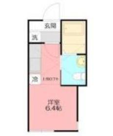 阪東橋駅 徒歩10分1階Fの間取り画像