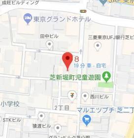 三田駅 徒歩9分案内図