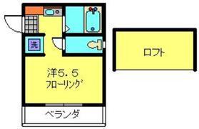 鶴見駅 バス9分「馬場町停」徒歩6分2階Fの間取り画像