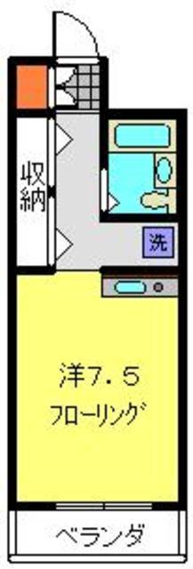 菊名駅 徒歩9分間取図