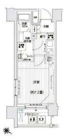 リライア西横浜6階Fの間取り画像