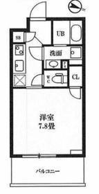 レクシード神田5階Fの間取り画像
