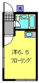 メゾンアムール2階Fの間取り画像