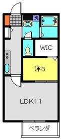 綱島駅 徒歩14分1階Fの間取り画像