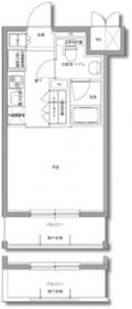 川崎駅 徒歩13分2階Fの間取り画像