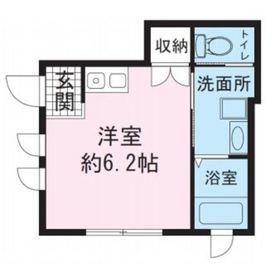 アヴァンテ武蔵小杉1階Fの間取り画像