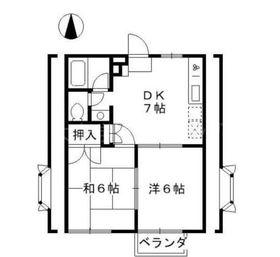 ガーデンハウス・ベル石神井1階Fの間取り画像