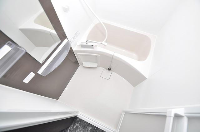 Realize長瀬 機能的なバスルームはトイレと別々なので、広々としていますよ。