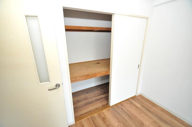 フローラ長田 各所に収納があるので、お部屋がすっきり片付きますね。