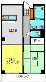 星川駅 徒歩13分2階Fの間取り画像