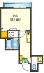アドバンス エステート2階Fの間取り画像