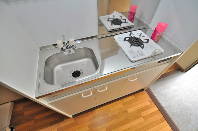 サンビレッジ・デグチⅡ ピカピカのキッチンはお料理の時間が楽しくなりますね。