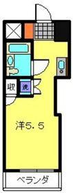 メインステージ保土ヶ谷4階Fの間取り画像