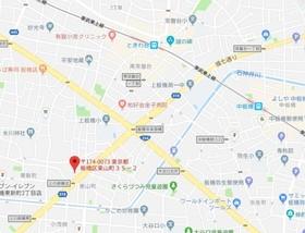 板橋本町駅 徒歩28分案内図