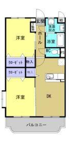 メゾン エトワール3階Fの間取り画像