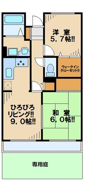 ガーデンピア桜ヶ丘間取図