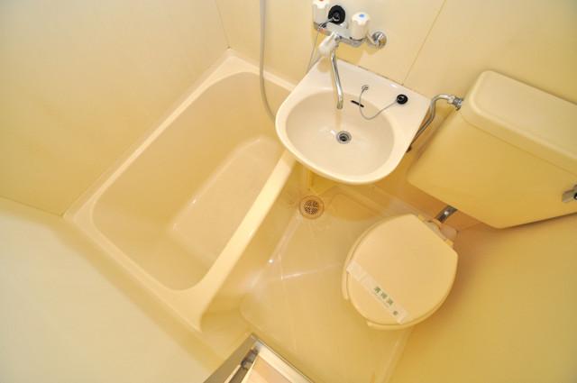 グランピア布施 シャワー1本で水回りが簡単に掃除できますね。