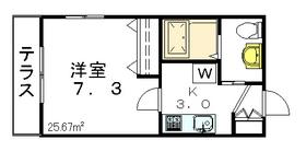 Maison Solare1階Fの間取り画像