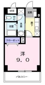 ジェルメコムーネ3階Fの間取り画像